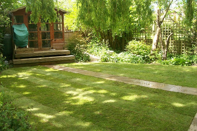Garden makeover in Cheadle Hulme